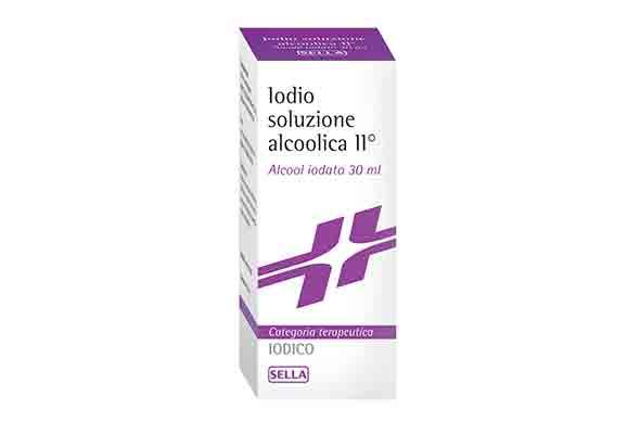 ALCOOL JODATO 2% - 30 ml