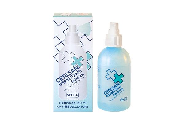 Cetilsan 02% Soluzione Cutanea Disinfettante Spray