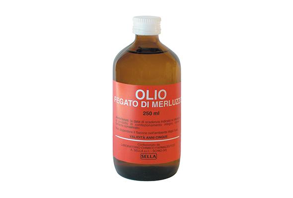 Olio di fegato di merluzzo 250 ml