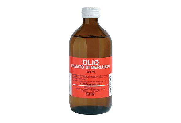 Olio di fegato di merluzzo 500 ml