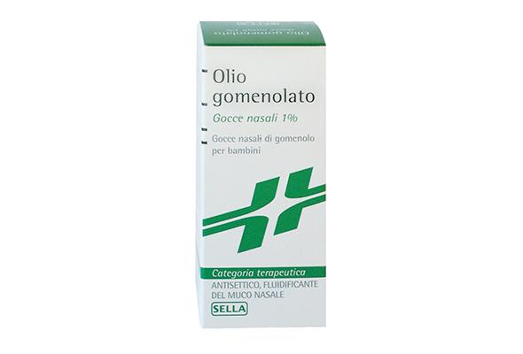 OLIO GOMENOLATO 1% 20 g BAMBINI