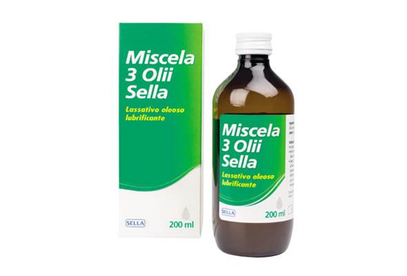 Miscela 3 Olii Sella MD 200 ml con astuccio