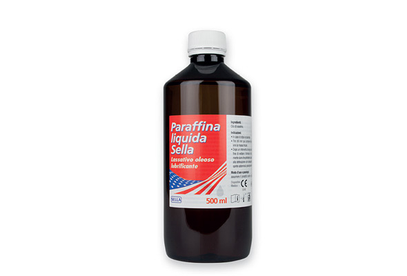 Paraffina Liquida Sella MD 500 ml