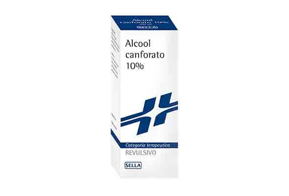 ALCOOL CANFORATO 10% - 100 g