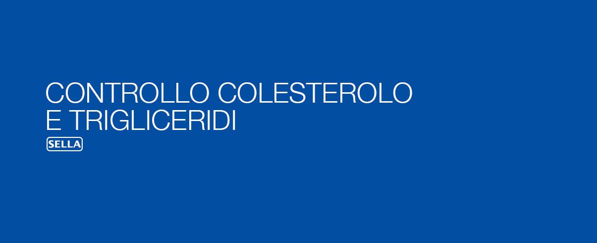 Controllo Colesterolo e Trigliceridi