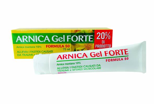 Arnica 10 % Forte Gel 72 ml