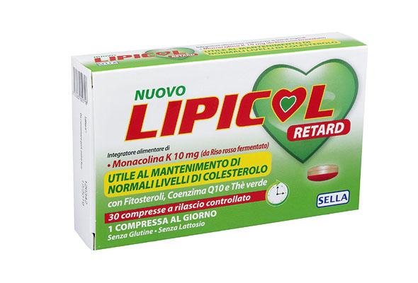 Lipicol Retard Compresse